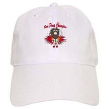 Cave man beer pong Baseball Cap