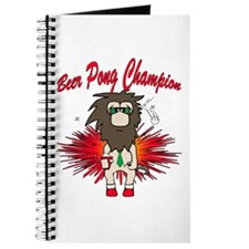 Cave man beer pong Journal