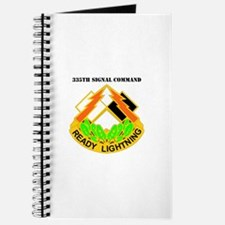 DUI-335th Signal Command with Text Journal