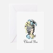 French Aristocrat Thank You Greeting Card