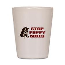 Stop Puppy Mills Shot Glass