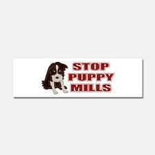 Stop Puppy Mills Car Magnet 10 x 3