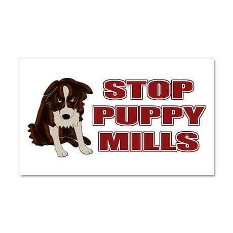Stop Puppy Mills Car Magnet 20 x 12