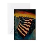 Patriot Mountain Greeting Cards (Pk of 10)