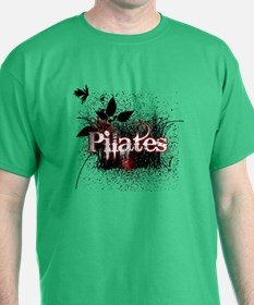 PIlates Leaves of Grass by Svelte.biz T-Shirt
