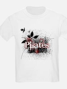 PIlates Leaves of Grass by Svelte.biz T-Shirt