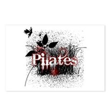 PIlates Leaves of Grass by Svelte.biz Postcards (P