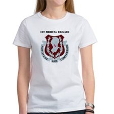 DUI - 1st Medical Bde with Text Tee
