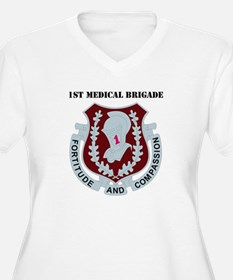DUI - 1st Medical Bde with Text T-Shirt