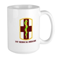 SSI - 1st Medical Bde with Text Mug