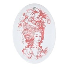 French Aristocrat (Berry) Ornament (Oval)