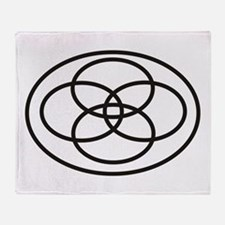 Plural Pride (Symbol only) - Throw Blanket