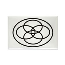 Plural Pride (Symbol only) - Rectangle Magnet