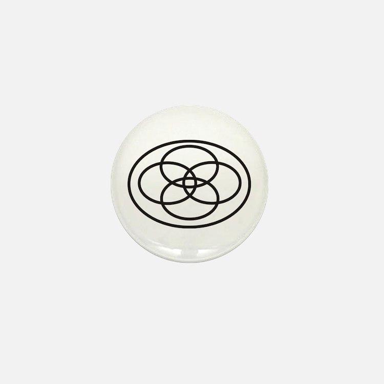 Plural Pride (Symbol only) - Mini Button