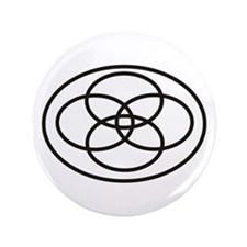 "Plural Pride (Symbol only) - 3.5"" Button"