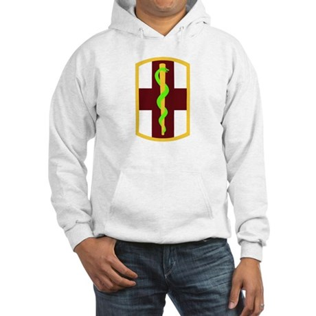 SSI - 1st Medical Bde Hooded Sweatshirt