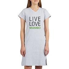 Live Love Mambo Women's Nightshirt