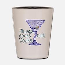 Cooks with Vodka Shot Glass