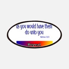 Repeal Prop 8 Rainbow Patches