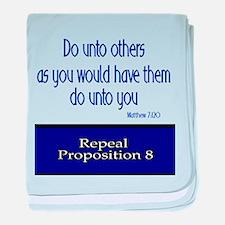 Repeal Prop 8 baby blanket