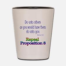 Repeal Prop 8 RBL Shot Glass