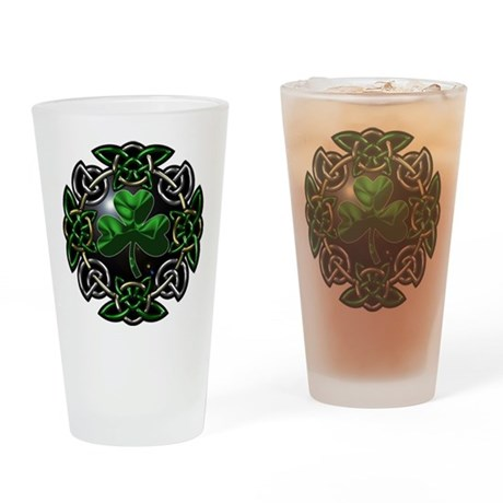 St. Patrick's Day Celtic Knot Drinking Glass