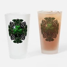 St. Patrick's Day Celtic Knot Drinking Glass