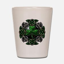St. Patrick's Day Celtic Knot Shot Glass
