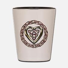 Celtic Heart Shot Glass