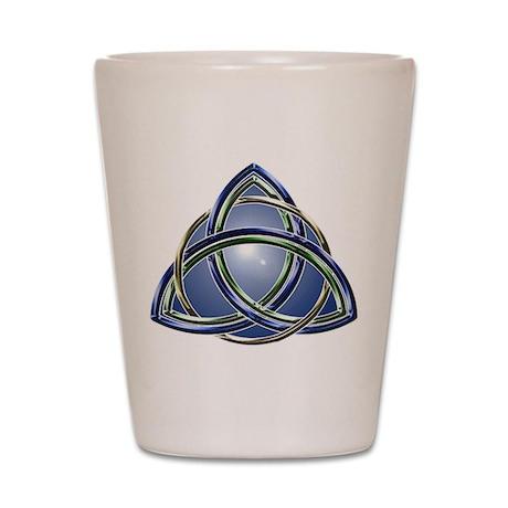 Trinity Knot Shot Glass