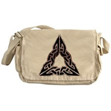 Trinitarian Celtic Knot Messenger Bag