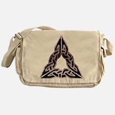 Trinitarian Celtic Knot Messenger Bag