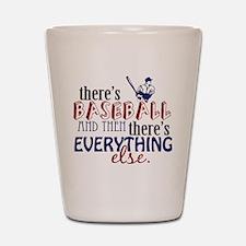 Baseball is Everything Shot Glass