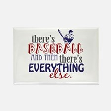 Baseball is Everything Rectangle Magnet