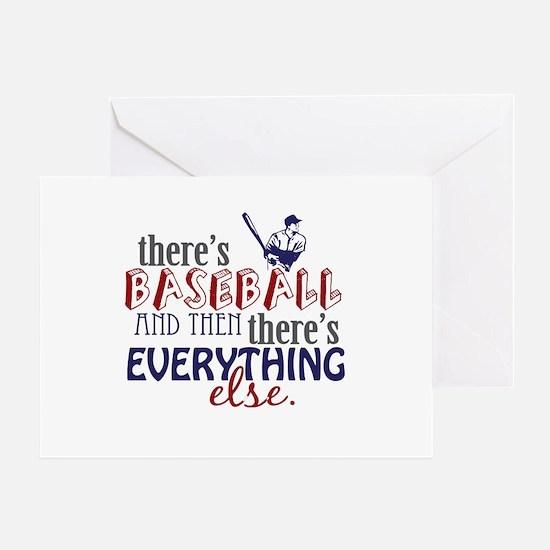 Baseball is Everything Greeting Card