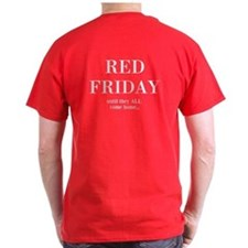 Cool Red fridays T-Shirt