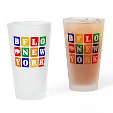 BFLO NEW YORK Drinking Glass
