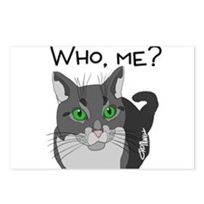 Who, me? Postcards (Package of 8)