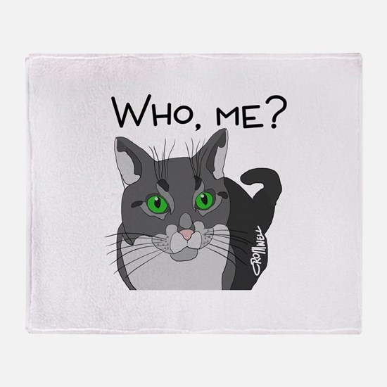 Who, me? Throw Blanket