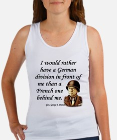 Patton Quote - German division in front of me Wome