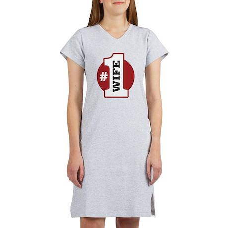 #1 Wife Women's Nightshirt