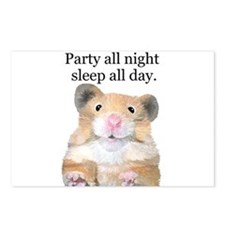 Party All Night Postcards (Package of 8)