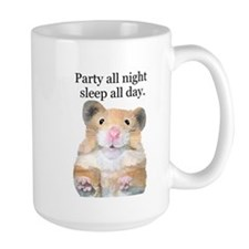 Party All Night Mug