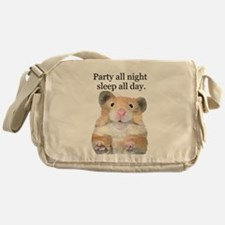 Party All Night Messenger Bag