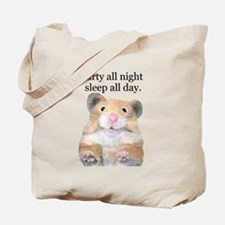 Party All Night Tote Bag