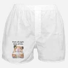 Party All Night Boxer Shorts