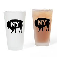 Buffalo New York Drinking Glass