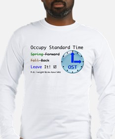 Occupy Standard Time Long Sleeve T-Shirt