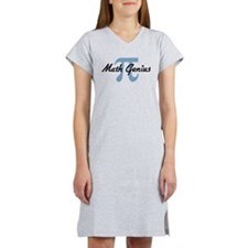 Math Genius Women's Nightshirt