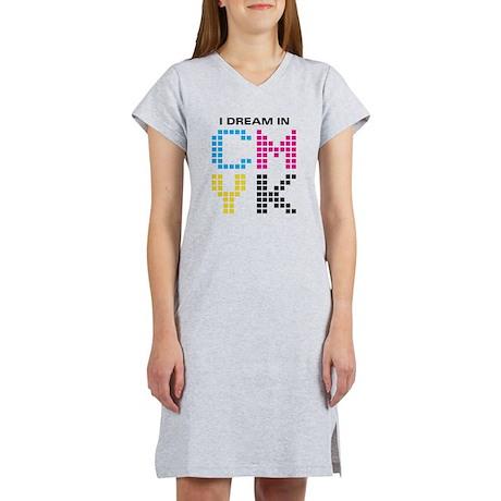 Dream In CMYK Women's Nightshirt